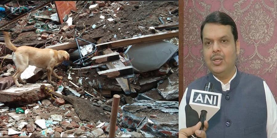 Dongri building collapse incident: CM Devendra Fadnavis announces compensation