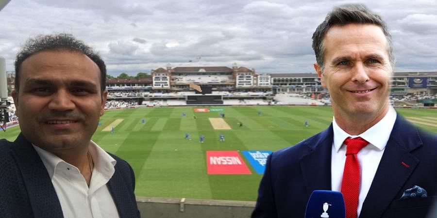 Virender Sehwag calls World Cup final a tie, Michael Vaughan responds
