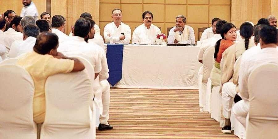 Congress mulls to approach SC seeking clarity over its judgement in Karnataka rebel MLA's plea