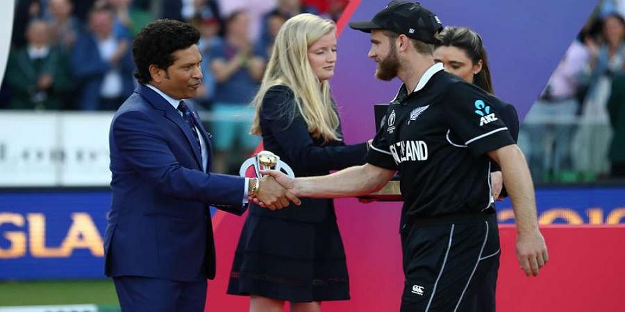 You had a great World Cup: Sachin Tendulkar told Kane Williamson after final loss