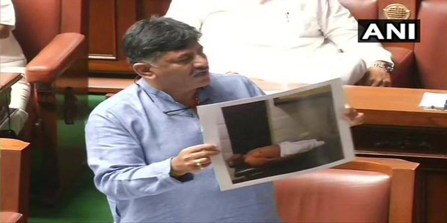 Our MLAs are being kidnapped, says D K Shivakumar as House reconvenes