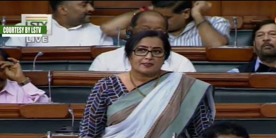 MP Sumalatha Ambareesh First Speech In Lok Sabha