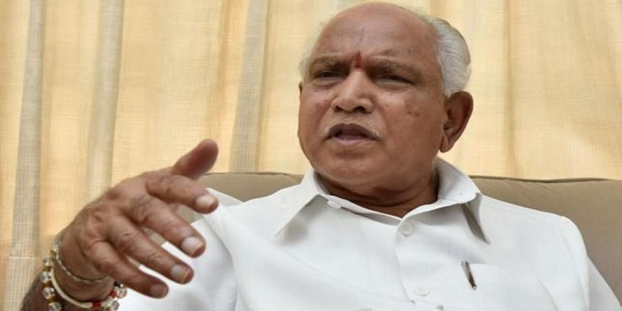 Coalition government in minority, CM Kumaraswamy has no moral right to continue: BS Yeddyurappa
