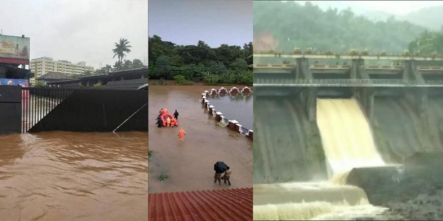 Assam Floods: red alert in 3 Kerala districts for heavy rains