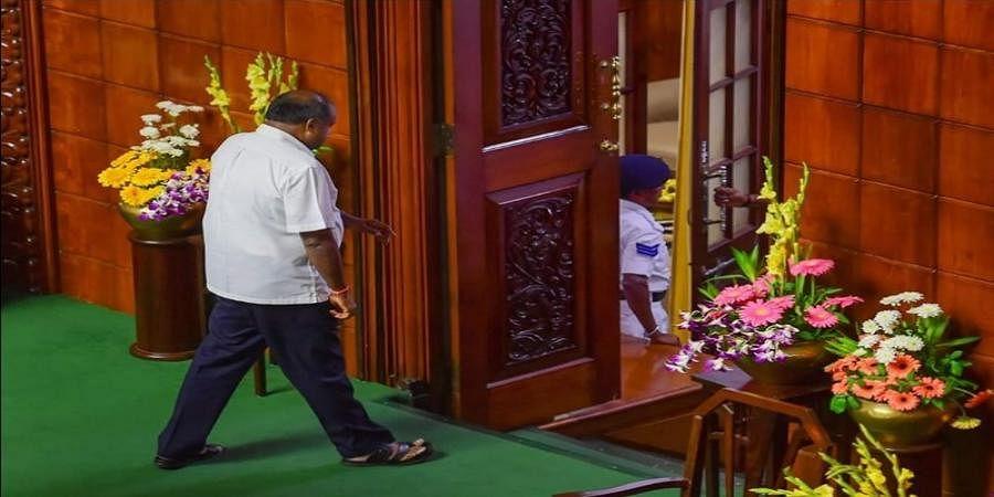 H D Kumaraswamy loses trust vote, JD (S)-Congress coalition government falls in Karnataka