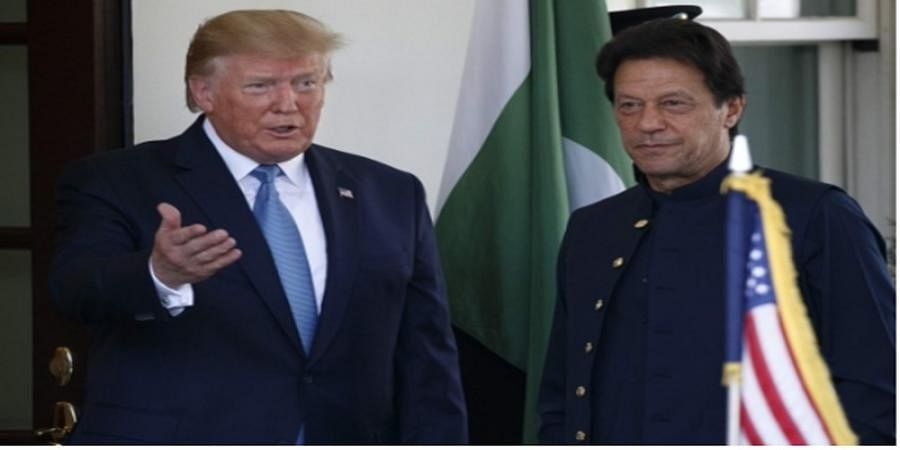 'Love to be a mediator in Kashmir talks': Trump after meeting Imran at White House