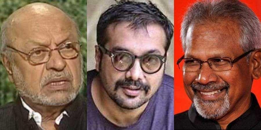 (From left to right ) Shyam Benegal, Anurag Kashyap, Manirathnam