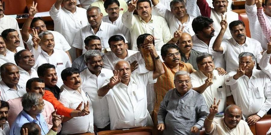 Karnataka's Congress-JDS Coalition Government Falls; BJP Says 'Game Of Karma'