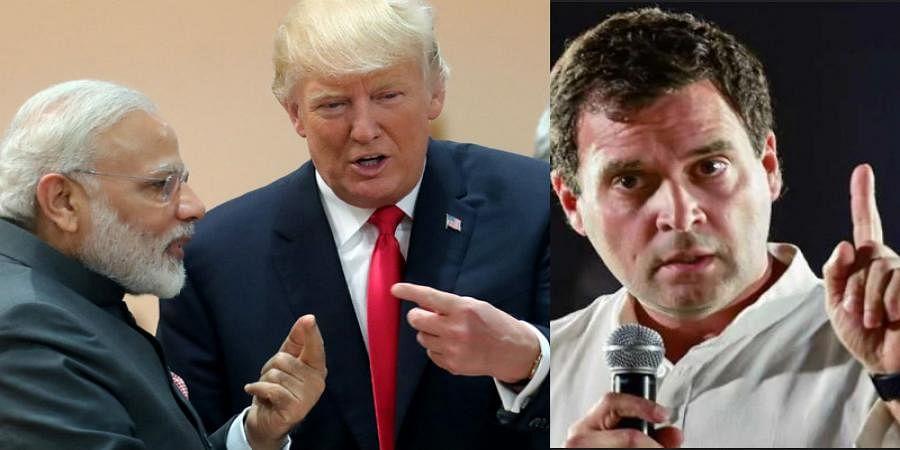 'PM Modi Betrayed India's Interests': Rahul Gandhi Urges PM to Respond to Trump's Kashmir Mediation Claim