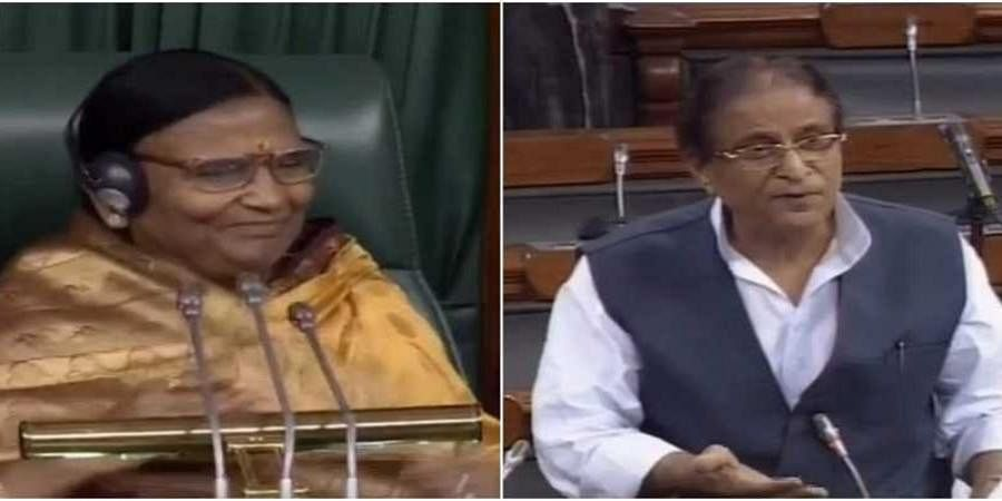 'Feel like looking into your eyes': Azam Khan's remark on presiding officer triggers uproar in Lok Sabha