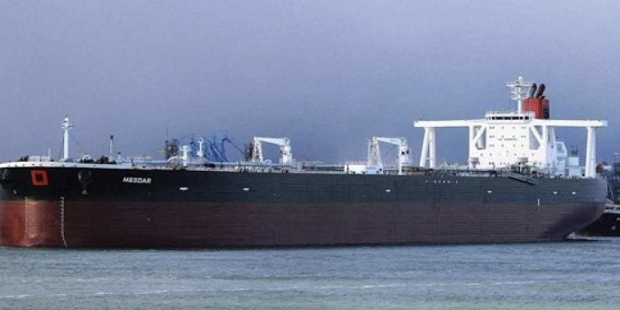 Image of an oil tanker used for representational purposes.