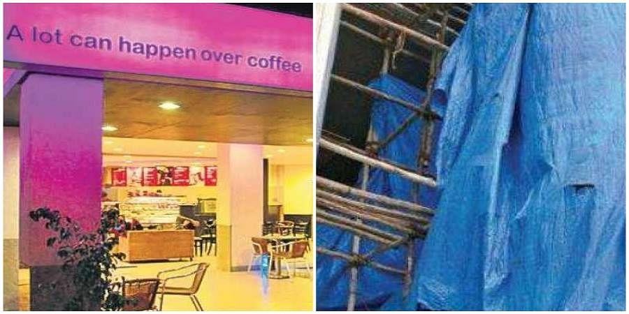 Cofee day shop and Bengaluru Brigade road coffee day shop