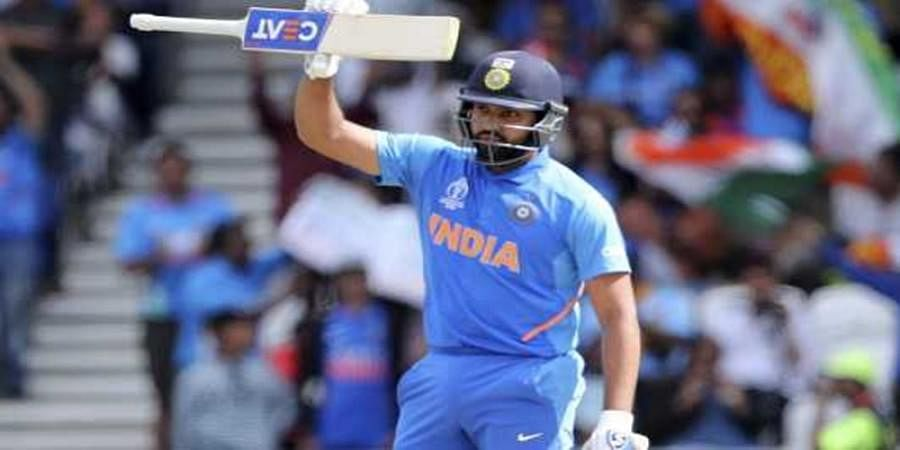 Rohit Sharma becomes first batsman to score five World Cup centuries