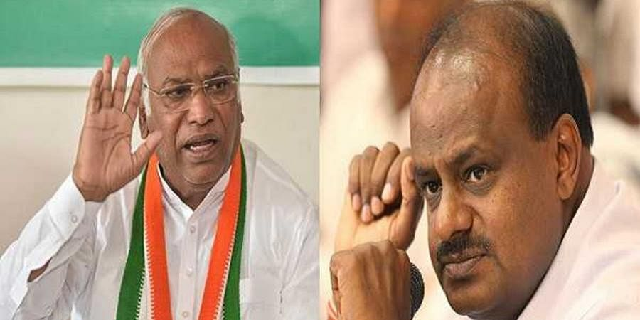 Kumaraswamy likely to step down to save the coalition government In Karnataka