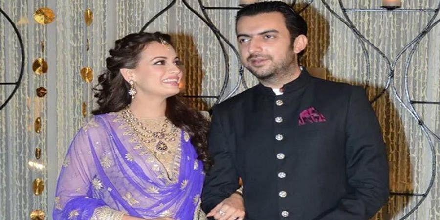 Dia Mirza, Sahil Sangha married in 2014