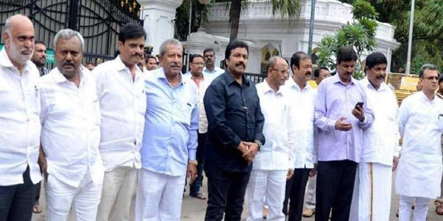 Disqualified Karnataka MLAs
