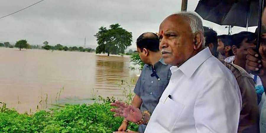CM BS Yeddyurappa-floods