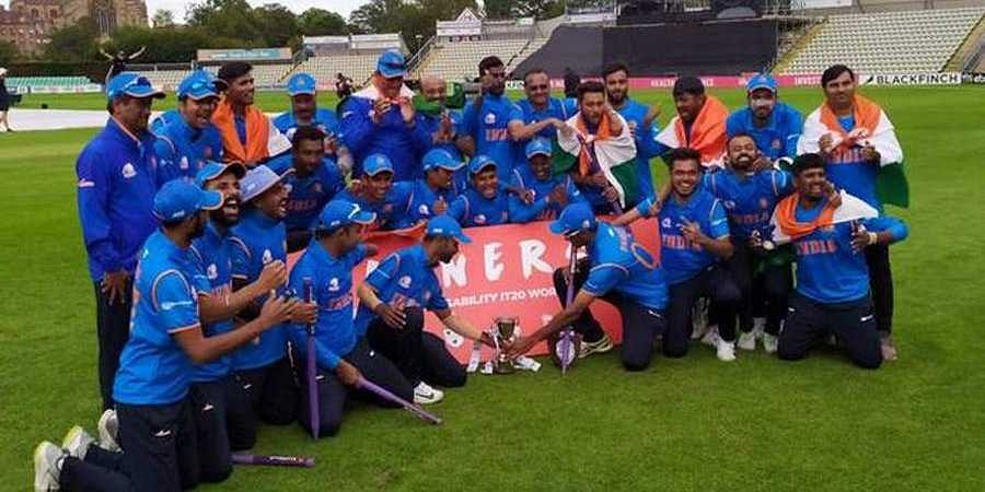 Physical Disability World Cricket; India beat England in Final, and lifts title