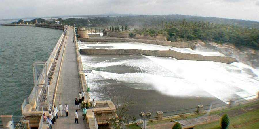 KRS Dam Reach Full Height