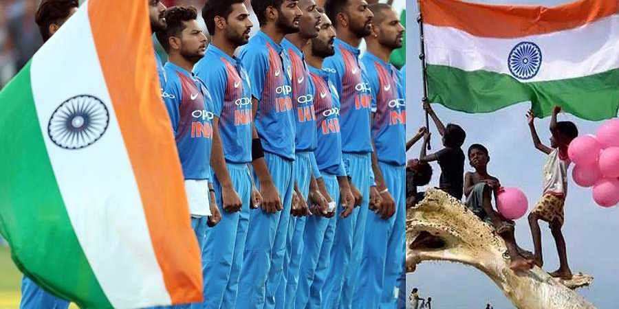 TeamIndia wishes a very Happy Independence Day