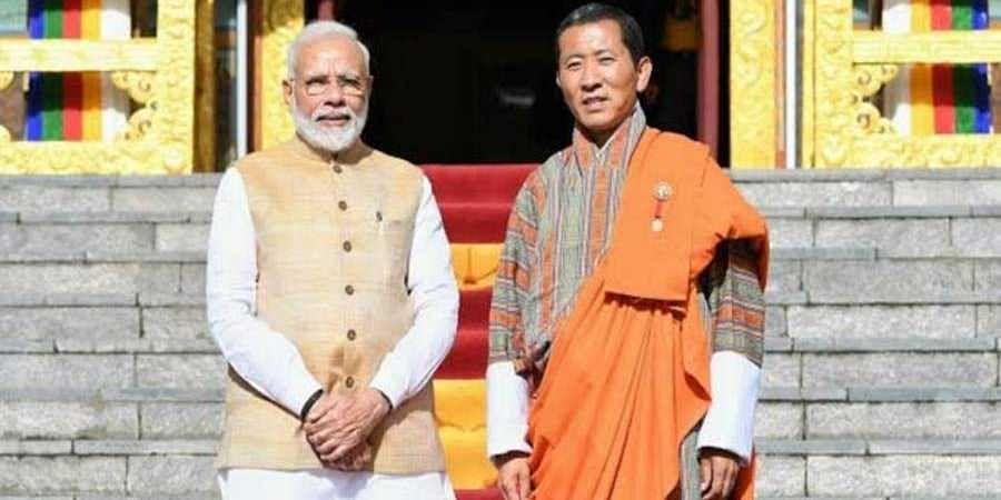 PM Modi  in Bhutan