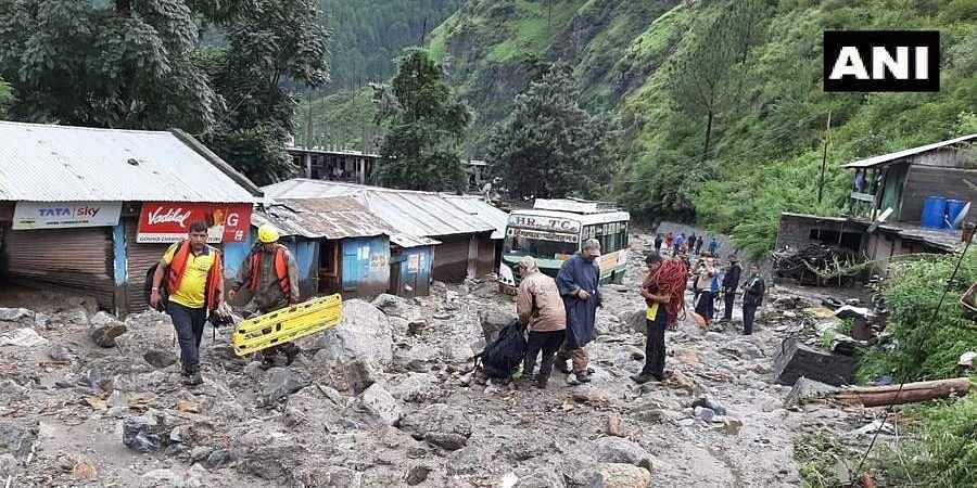 Rescue operations underway in Uttarkashi