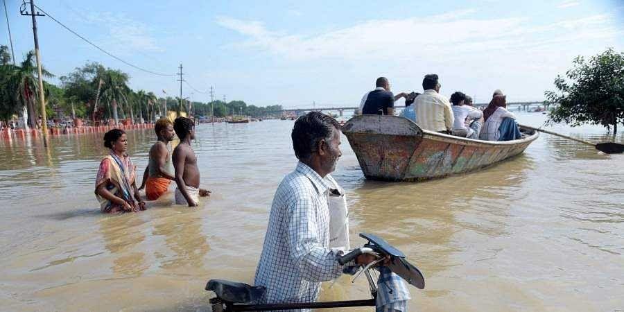 Ganga and Yamuna flow above danger mark