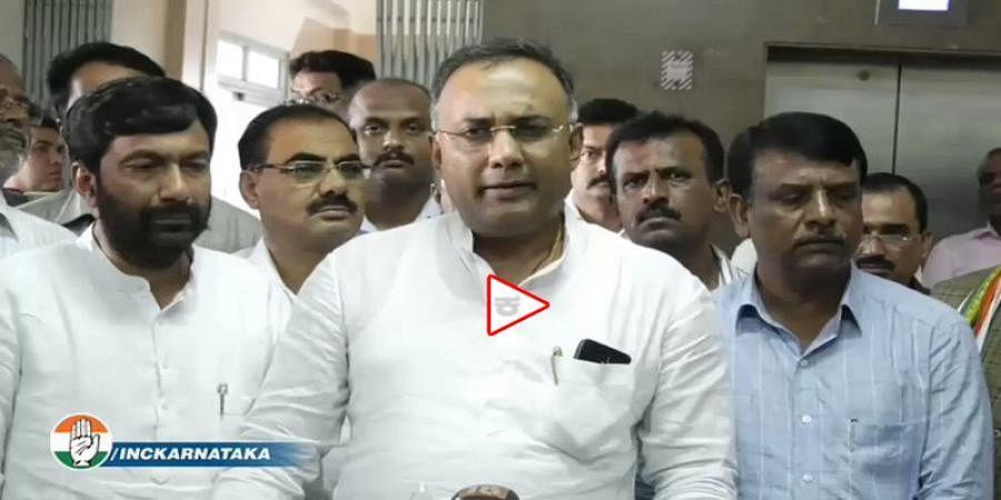 BS Yeddyurappa Yeddyurappa engineering horse-trading in Karnataka: Dinesh Gundu Rao