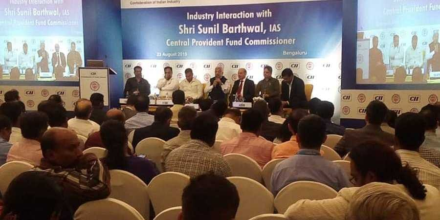 CII interactive session with Central Provident Fund Commissioner in Bengaluru