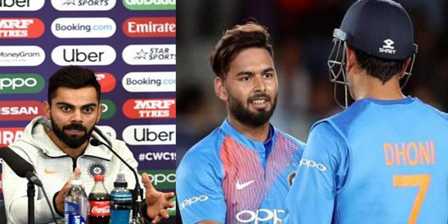 MS Dhoni's absence great opportunity for Rishabh Pant to become a consistent performer: Skipper Virat Kohli
