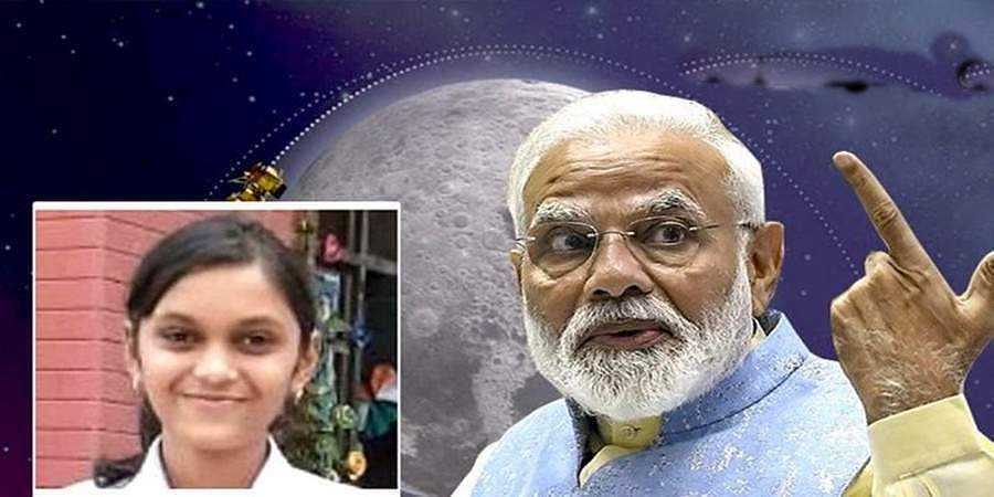 Lucknow girl witness Chandrayaan-2 landing with PM Narendra Modi