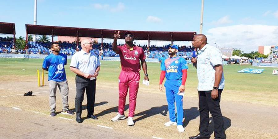 2nd T201: Unchanged India opt to bat against West indies