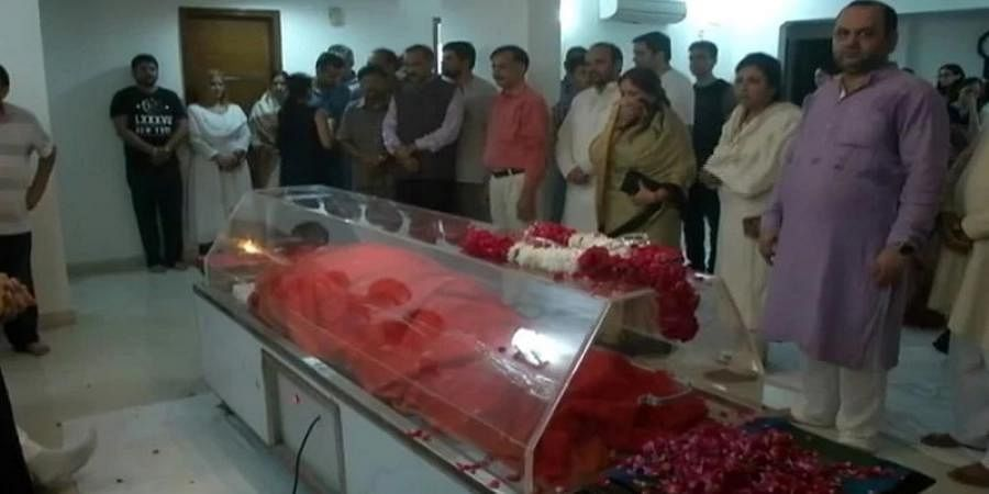 Doctors tried for 70 minutes to revive Sushma Swaraj, but failed