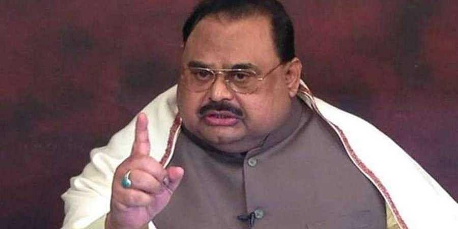 MQM leader Altaf Hussain