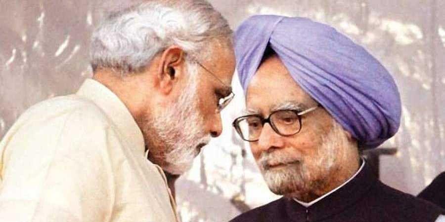 Modi-Manmohan Singh