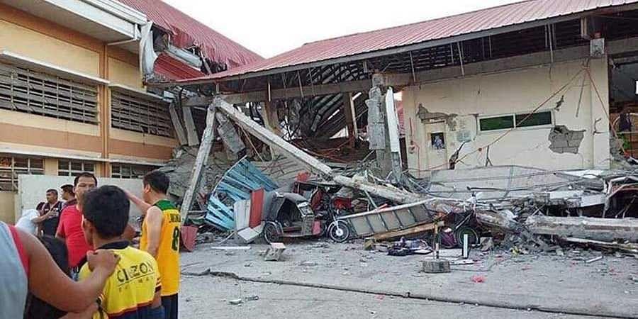 Earth quake-Philippines