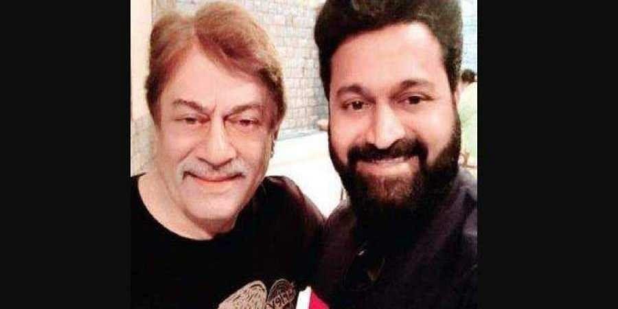 Anant Nag and Rishab Shetty