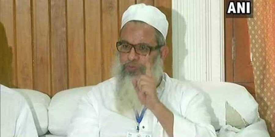 General secretary of Jamiat Ulema-e-Hind Mahmood Madani.