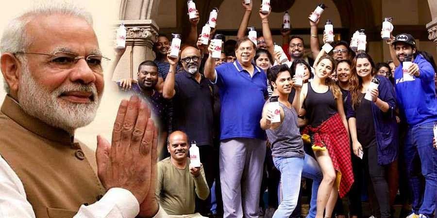 PM Modi hails 'Coolie No 1' team for shunning single use plastic