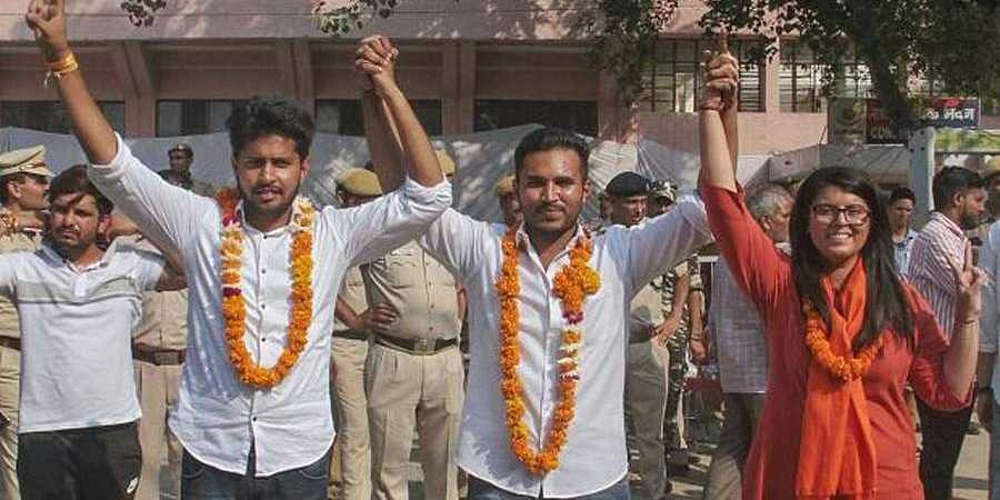 ABVP wins 3 out 4 posts in Delhi varsity polls