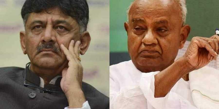 HD Devegowda reason behind DK Shivakumar's arrest, alleges disqualified MLA Narayana Gowda