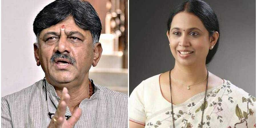 Shivakumar And  Laxmi Hebbalkar