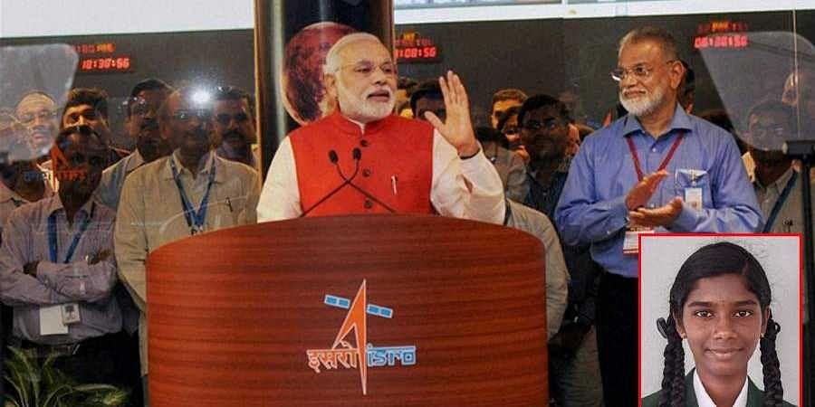 Raichur student Vaishnavi chosen to witness ISRO's Chandrayaan-2 landing with PM Modi