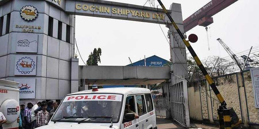 cochin-shipyard-gate