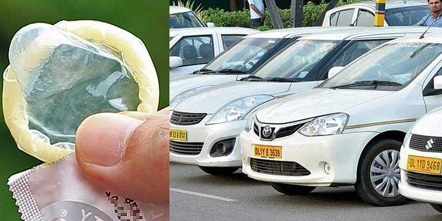 Do you know why Delhi cabs keep condoms as first-aid