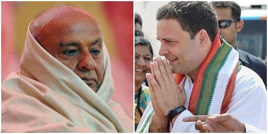 JDS supremo Devegowda shows interest to forge alliance with congress for by polls