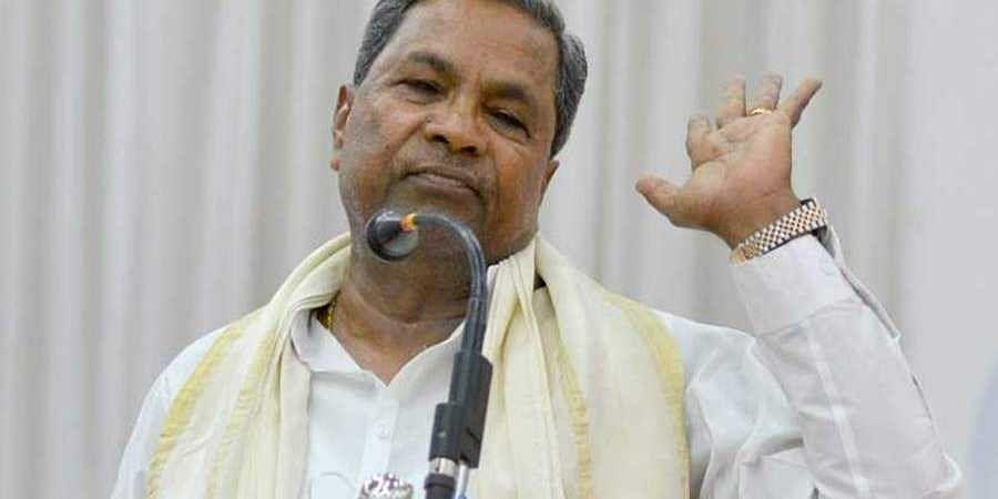 Former CM Siddaramaiah