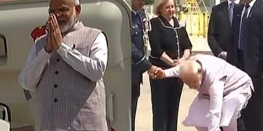 Swachhta Abhiyaan' in US: Modi's 'down to earth' gesture at Houston airport wins hearts on Internet
