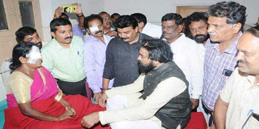B. Sriramulu Stayed in District Hospital
