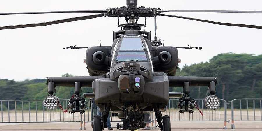 8 Apache attack choppers join IAF fleet